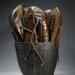 Memories of Indochina, patinated bronze, 35 x 23 x 26 inches