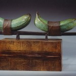 On The Way To Mandalay, 2000, patinated bronze, 21 x 34 x 6.25 inches