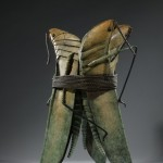The Three Graces, patinated bronze, 31 x 20 x 20 inches